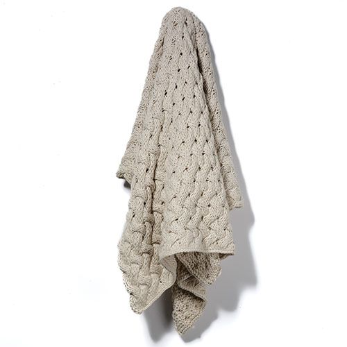 Metta Knit Natural Throw