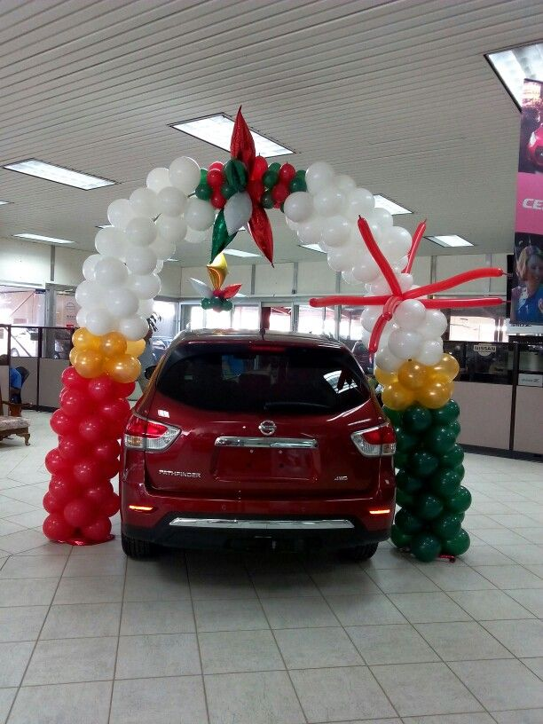 car dealer xmas decor xmas decor in 2018 pinterest xmas decorations cars and balloon cars