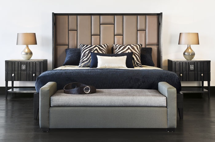 ADRIANA HOYOS GRAFITO #Bedroom Collection #furniture #bedroomfurniture