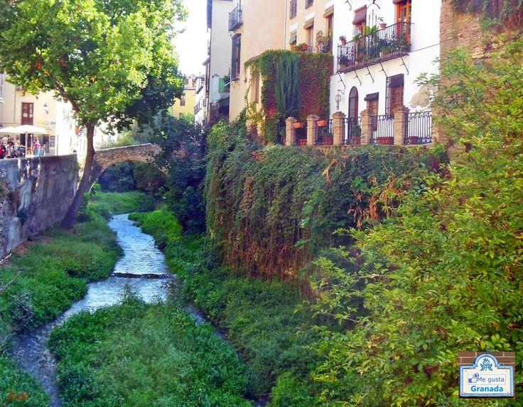 Que ver en Granada: La calle mas bonita del mundo, la Carrera del Darro