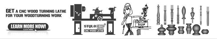 CNC Wood Turning Lathe