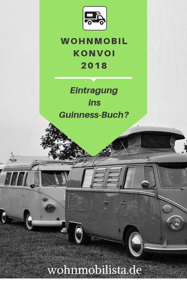 Wohnmobil Konvoi Weltrekord - 9 Guinness-Titel?  Weltrekorde