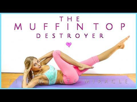 Perfect Muffin-Top Destroyer | 5 Minute Miracle | That Skinny Bitch Waistline - YouTube