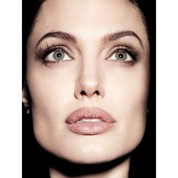 CELEBRITY STYLE REWIND Angelina Jolie for Newsweek, December 2011 by... ❤ liked on Polyvore featuring models, faces, angelina jolie, image and makeup