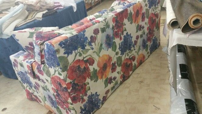 Slipcover i made at work