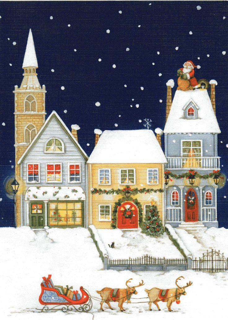 светских рождественская открытка от ки из миннеаполиса берега