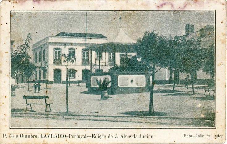 Antigo coreto do Lavradio, Praça 5 de Outubro
