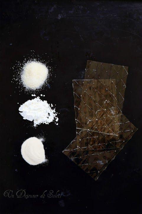 Gelatine, agar agar, fecule : equivalences utilisations et recettes ©Edda Onorato