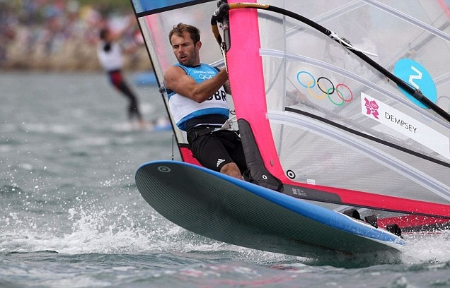 Nick Dempsey takes silver in the RS:X (Metro)