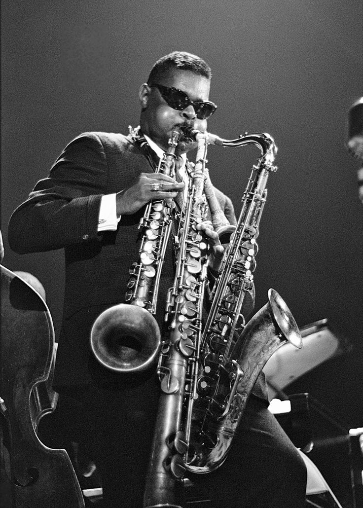 Image result for pics 1960's roland kirk 6 saxaphones playing