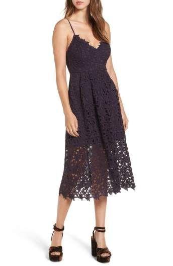 358cc2d29b77 ASTR the Label Lace Midi Dress   All about VIOLET   Lace midi dress ...