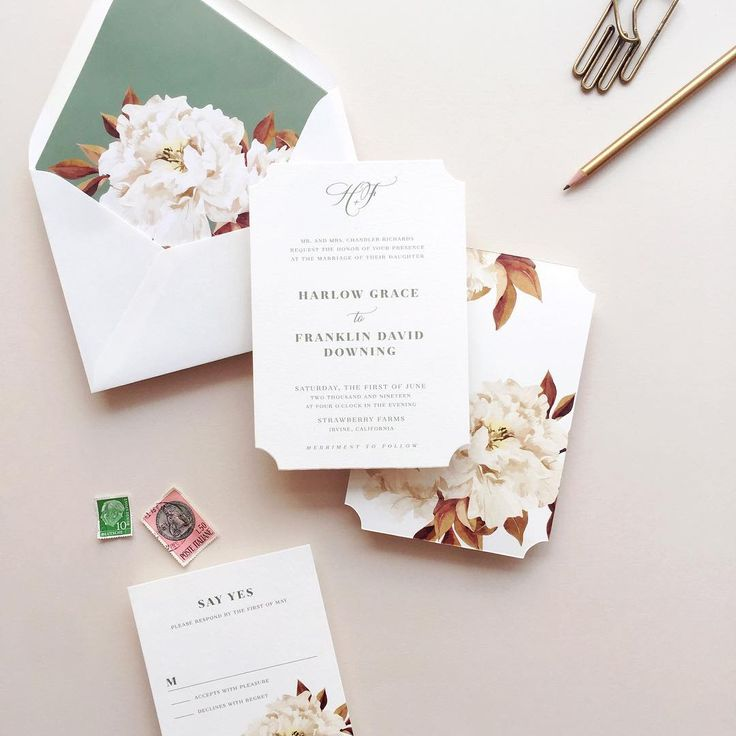583 best the wedding invitation images on pinterest, Wedding invitations