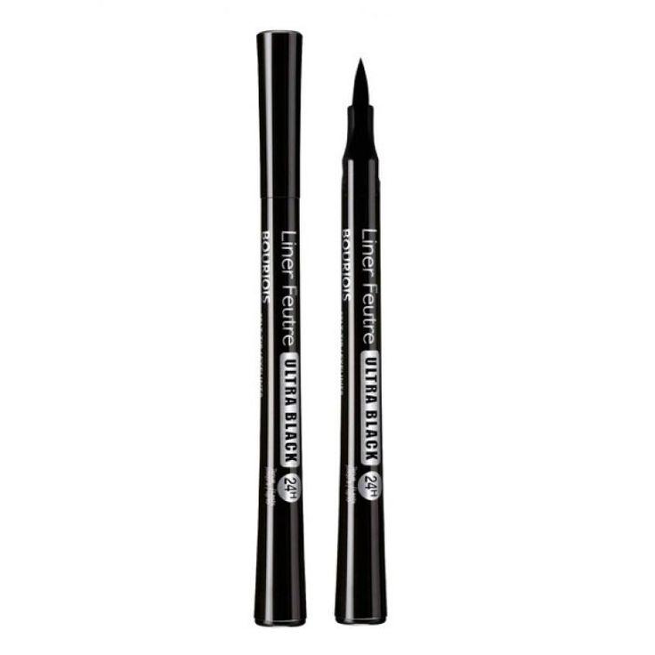 Απόκτησε έντονα και καταπληκτικά μάτια με το Bourjois Liner Feutre Ultra Black! Χαρίζει έντονο μαύρο χρώμα, με μεγάλη διάρκεια ενώ η felt-tip μύτη του επιτρέπει ευκολία στην εφαρμογή. Το αποτέλεσμα είναι έντονο μαύρο χρώμα, ακριβής γραμμή eyeliner εύκολα και γρήγορα!