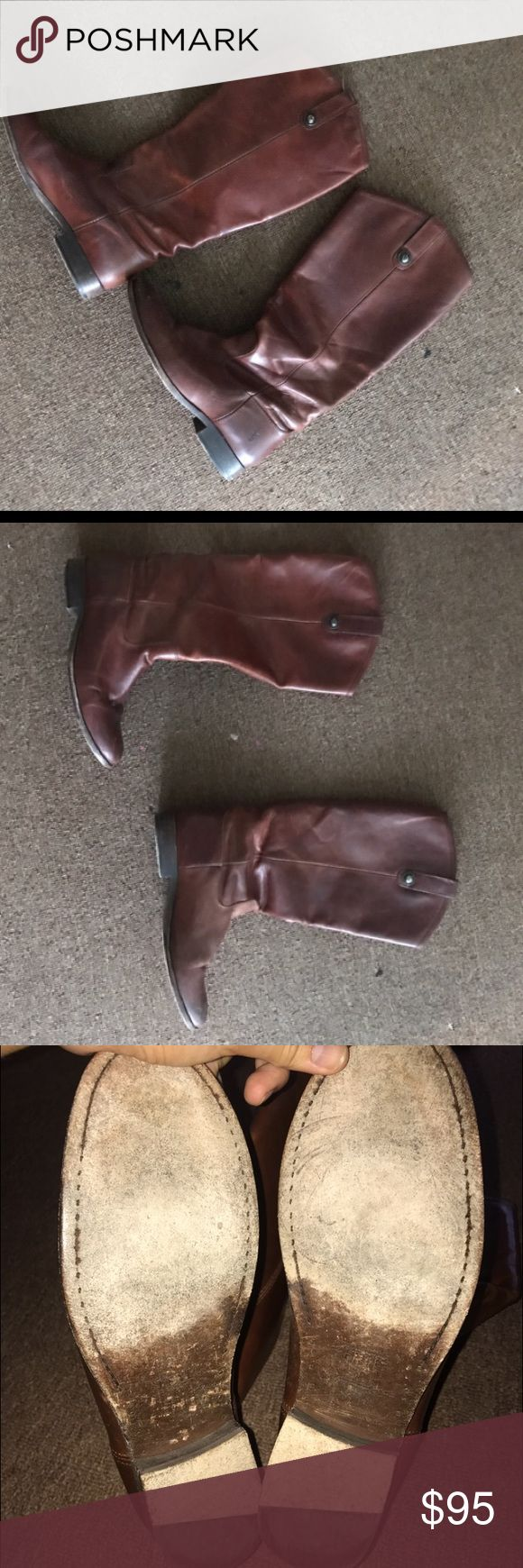 Melissa Frye boots Lightly worn. But very comfy! Frye Shoes