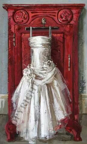 The forever wedding gown.