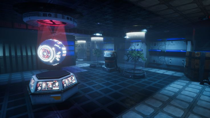ProTek Laboratory Environment on Unreal Marketplace - https://www.unrealengine.com/marketplace/pro-tek-sci-fi-pbr-laboratory-interior-with-hologram?utm_campaign=crowdfire&utm_content=crowdfire&utm_medium=social&utm_source=pinterest #unrealengine4 #3dart #screeshotsaturday