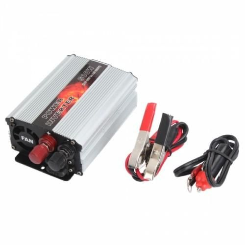 Every household should have one of these DC to AC power inverters, for any special household or travel need. The product is specially designed to convert DC electricity (12v) into AC (220v) for your convenience.