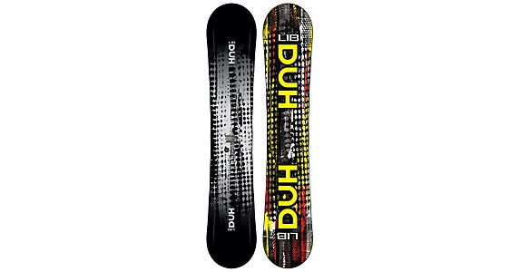 Deeper Understanding Hypothesis or DUH is the latest brain-child of Lib-Tech Snowboards. The DUH has four edges, thats r..