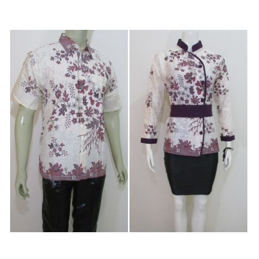 Baju  batik pasangan suami istri model  terbaru  online ada