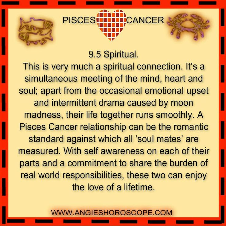 love match horoscope pisces Daily love horoscope for cancer & pisces zodiac sign combination how good is this day for a pisces - cancer couple.