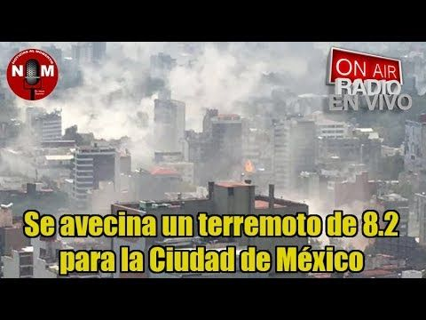 ¡¡SE ACERCA TERREMOTO¡¡  de 8.2 para la Ciudad de México 🔴| Noticias al ...