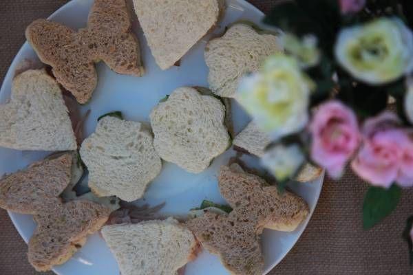 Fairy Cutout sandwiches