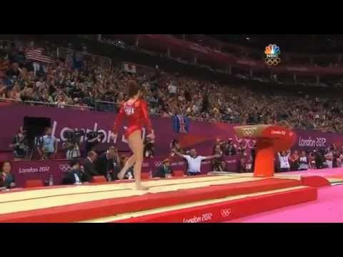 THE McKayla Maroney Vault London 2012. I still don't understand why she didn't get a perfect score!