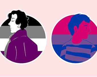 Asexual Sherlock and Bisexual John