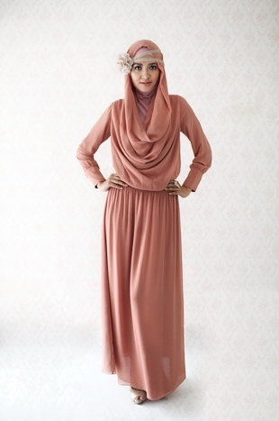 1920s flapper meets Arabia Muslimah fashion inspiration