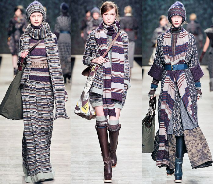 Правила этажного многослойного стиля одежды
