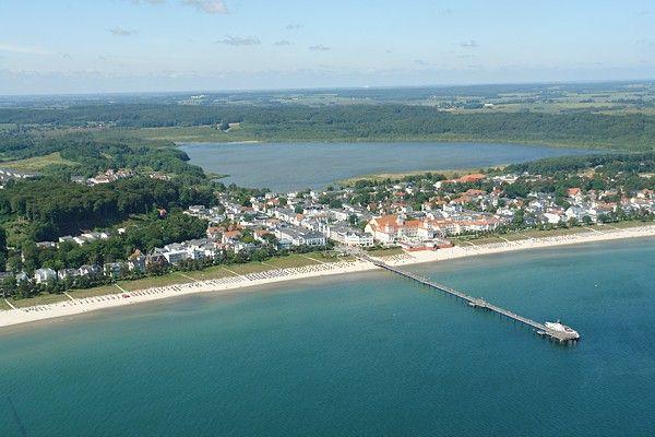 Luftbild Ostseebad Binz von hadiko