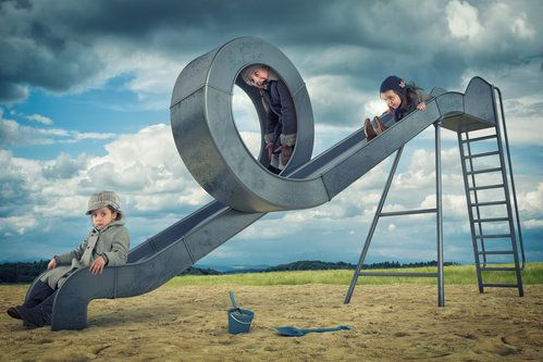 Just a loop slide by John Wilhelm