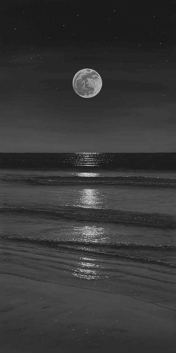 aesthetic grey dark iphone wallpapers gray sky night hd backgrounds ocean moon phillip anthony