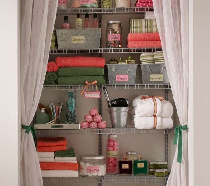 210 Best Images About Bathrooms & Linen Closets On
