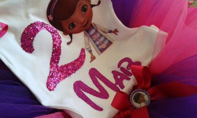 Blusa para niñas La doctora juguetes