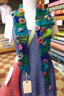 Discover Your Inner Knitter with Doris: Gossamer Flower Power
