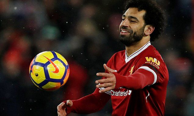 Salah Is On Course For 35 League Goals Highest Total Since 1966 7 Watford Liverpool Mohamed Salah