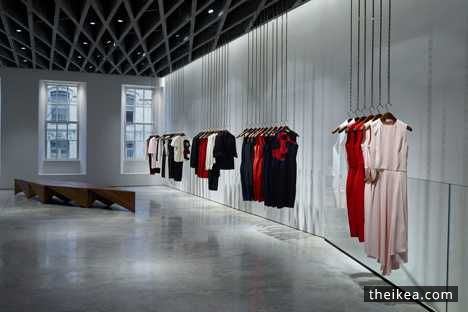 types of interior design - Farshid Moussavi ypes London Shop Interior For Victoria Beckham ...