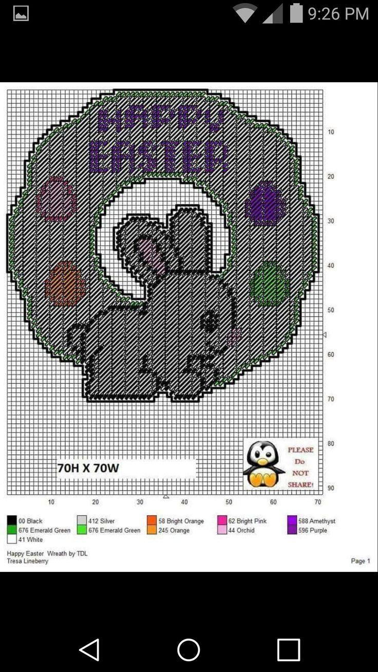 217 Best Images About Easter Plastic Canvas On Pinterest