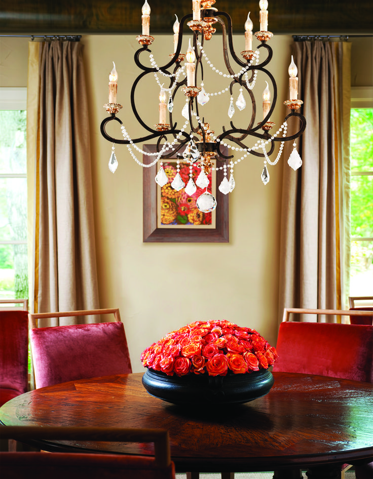 71 best troy lighting images on pinterest troy lighting crystal chandelier in parisian bronze finish mozeypictures Image collections