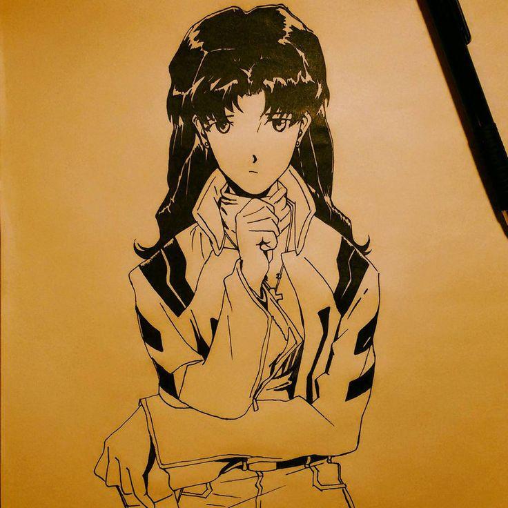 Misato Katsuragi by iLMostro2 on DeviantArt