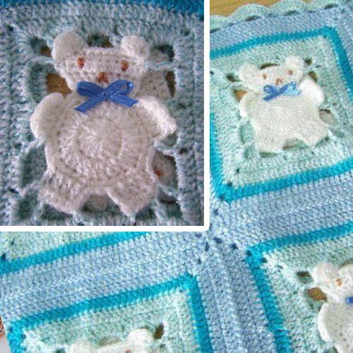 Free Crochet Patterns Teddy Bear Blanket : 17 Best images about Ideeen haken en breien on Pinterest ...