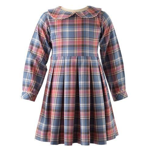 Rachel Riley FW16 Tartan Flannel Dress