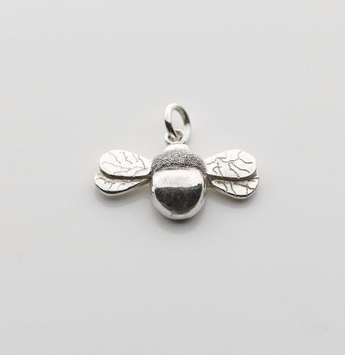 Sterling silver bee pendant, necklace, online jewellery gifts, presents
