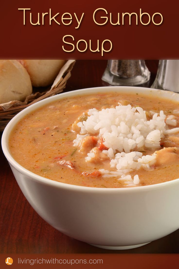Turkey Gumbo, Perfect Recipe For A Cold Day!