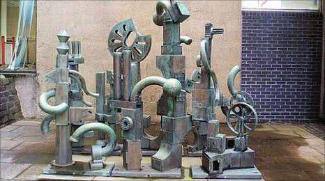 Sculpture by Sir Eduardo Paolozzi