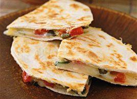 Quesadillas fromage-tomate | Plaisirs santé
