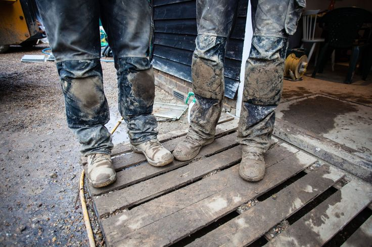 Whatever the weather, #Nutshell will get the job done. #Mud #Construction #Sussex