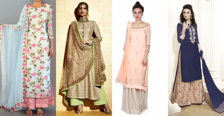 Confused what to wear with palazzo ? Check out an amazing style to wear Palazzo with Kurtis and Palazzo Salwar suit styles.