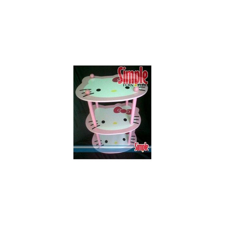 Rak susun 3 hello kitty ukuran 50x40 tinggi 72cm  pengiriman 6kg  SMS/ WHATSAPP:  085649626866 PIN BB 2B367408 PIN BB 29F8893D